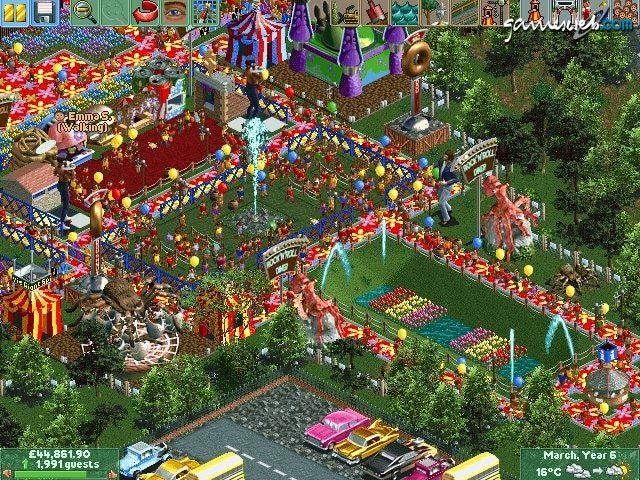 Rollercoaster Tycoon 2 - Screenshots - Bild 3