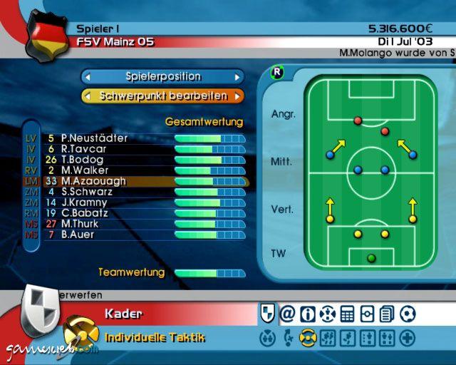 BDFL Manager 2004  Archiv - Screenshots - Bild 3