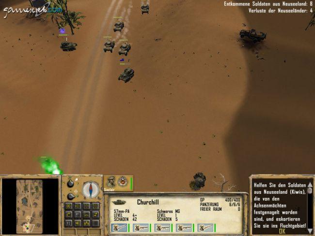 Afrika Korps vs. Desert Rats - Screenshots - Bild 4