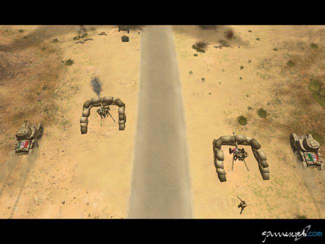 Afrika Korps vs. Desert Rats - Screenshots - Bild 9