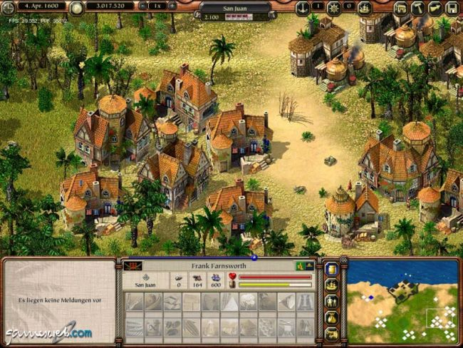 Port Royale 2 - Screenshots - Bild 4