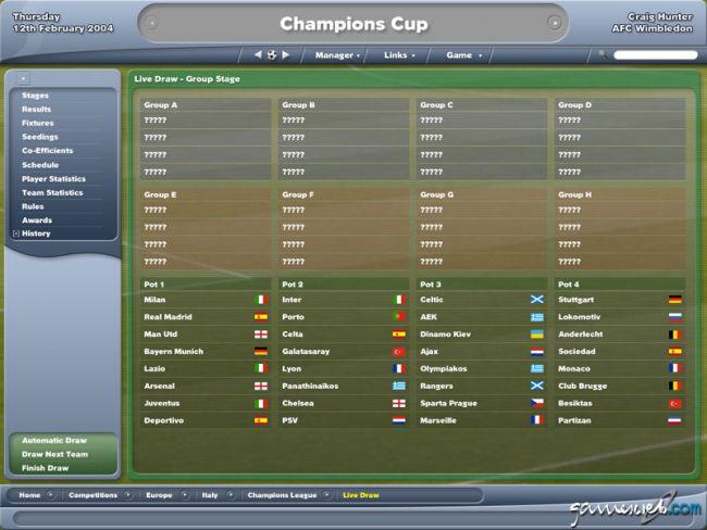 Football Manager 2005  Archiv - Screenshots - Bild 17