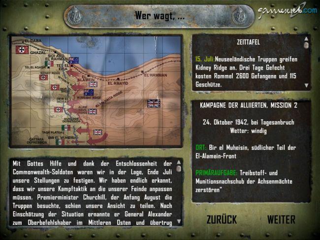 Afrika Korps vs. Desert Rats - Screenshots - Bild 3