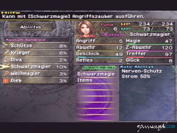 Final Fantasy X-2 - Screenshots - Bild 2