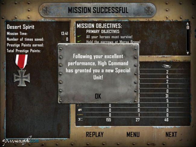 Afrika Korps vs. Desert Rats - Screenshots - Bild 7