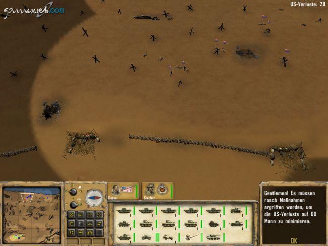 Afrika Korps vs. Desert Rats - Screenshots - Bild 6