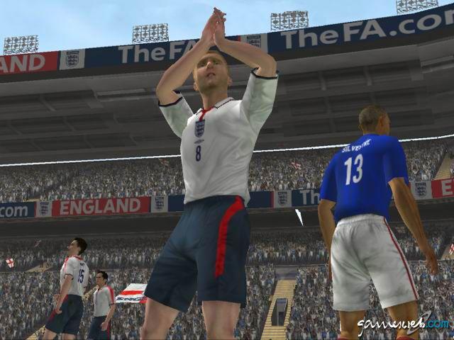 England International Football  Archiv - Screenshots - Bild 13
