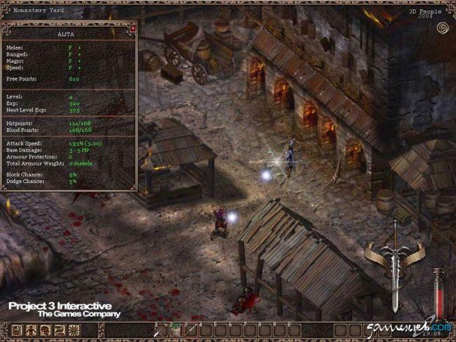 Kult: Heretic Kingdoms  Archiv - Screenshots - Bild 13