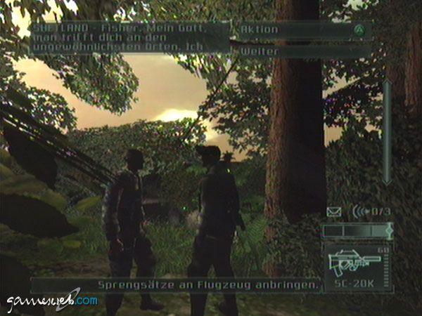Tom Clancy's Splinter Cell: Pandora Tomorrow - Screenshots - Bild 6