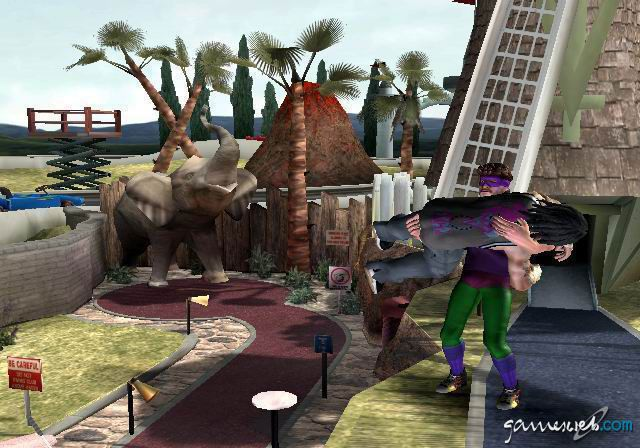 Backyard Wrestling 2: There Goes the Neighborhood  Archiv - Screenshots - Bild 8