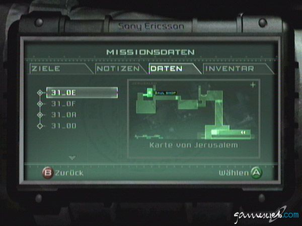 Tom Clancy's Splinter Cell: Pandora Tomorrow - Screenshots - Bild 4
