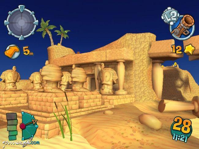 Worms Forts: Unter Belagerung  Archiv - Screenshots - Bild 12