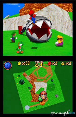 Super Mario 64 DS  Archiv - Screenshots - Bild 13