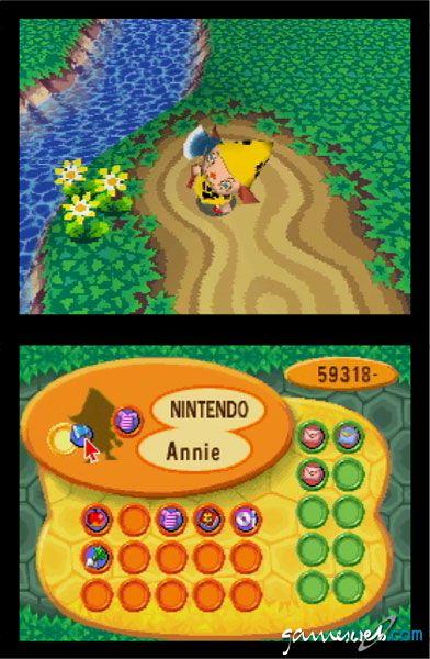 Animal Crossing: Wild World (DS)  Archiv - Screenshots - Bild 19