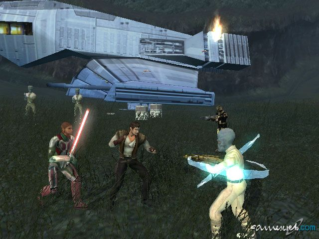 Star Wars: Knights of the Old Republic 2: The Sith Lords  Archiv - Screenshots - Bild 32