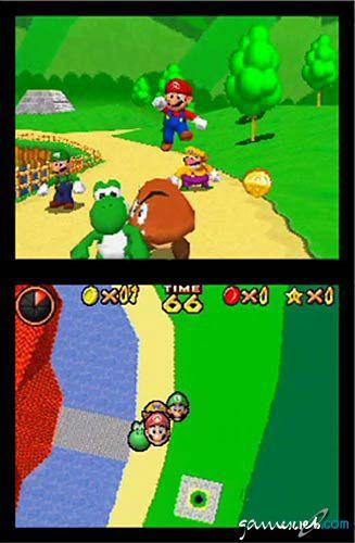 Super Mario 64 DS  Archiv - Screenshots - Bild 16