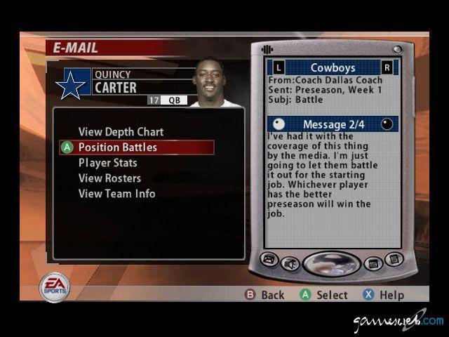 Madden NFL 2005  Archiv - Screenshots - Bild 7