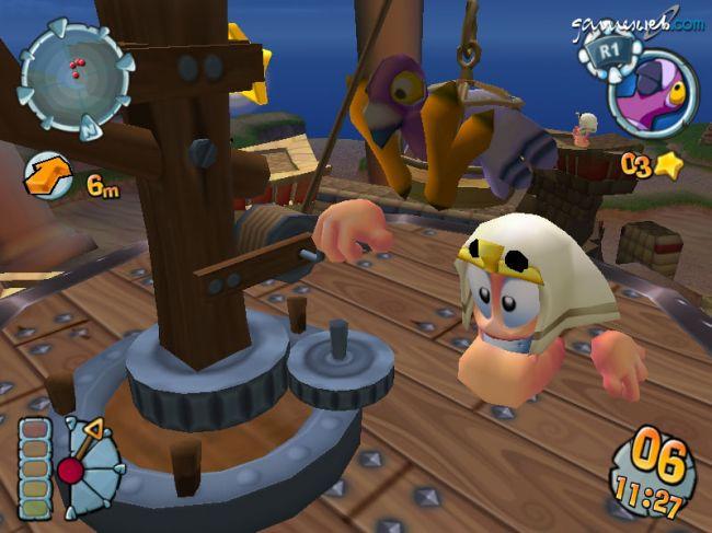 Worms Forts Under Siege  Archiv - Screenshots - Bild 5
