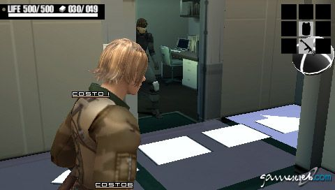 Metal Gear Acid (PSP)  Archiv - Screenshots - Bild 40