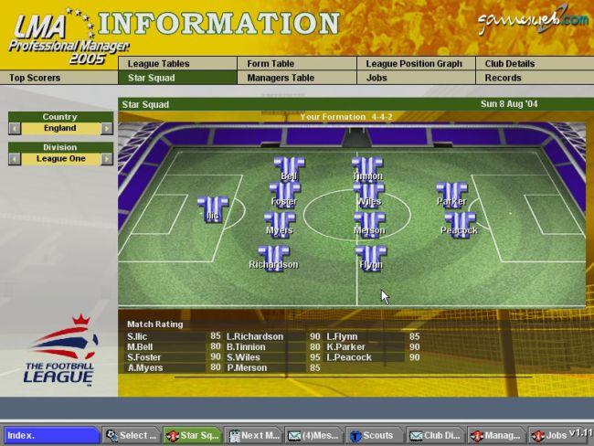BDFL Manager 2005 Pro Edition  Archiv - Screenshots - Bild 9