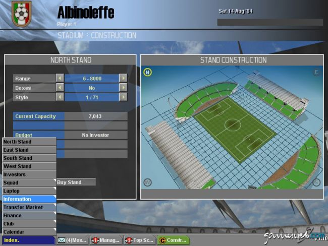 BDFL Manager 2005 Pro Edition  Archiv - Screenshots - Bild 15