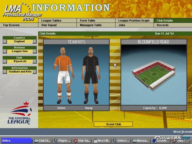 BDFL Manager 2005 Pro Edition  Archiv - Screenshots - Bild 18