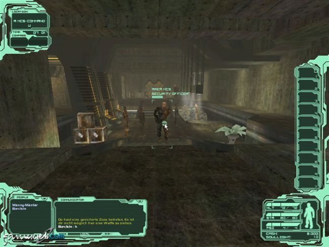 Neocron 2: Beyond Dome of York  Archiv - Screenshots - Bild 2