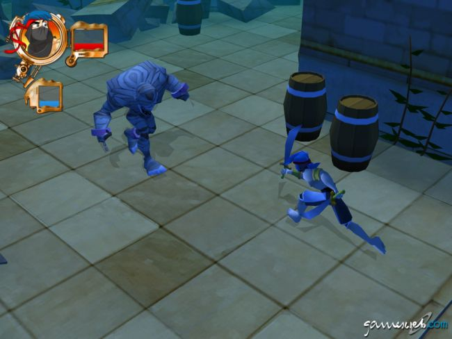 Billy Blade and the Temple of Time  Archiv - Screenshots - Bild 7