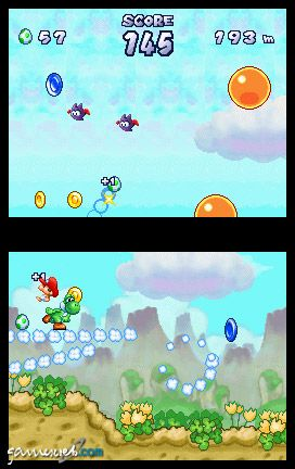 Yoshi's Touch & Go (DS)  Archiv - Screenshots - Bild 2