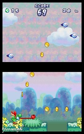 Yoshi's Touch & Go (DS)  Archiv - Screenshots - Bild 6