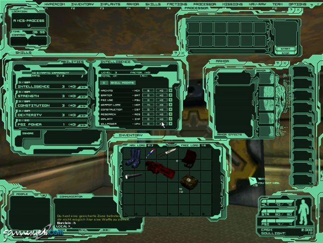 Neocron 2: Beyond Dome of York  Archiv - Screenshots - Bild 4