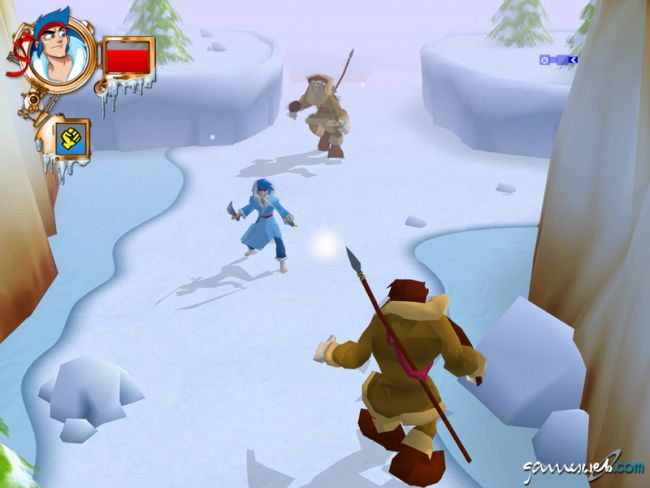 Billy Blade and the Temple of Time  Archiv - Screenshots - Bild 2