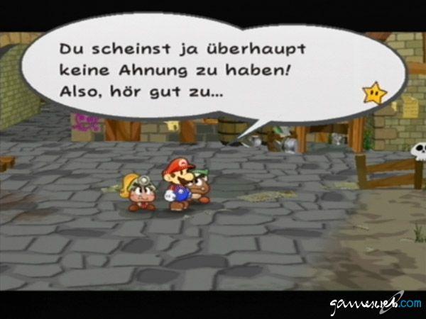 Paper Mario: Die Legende vom Äonentor  Archiv - Screenshots - Bild 3