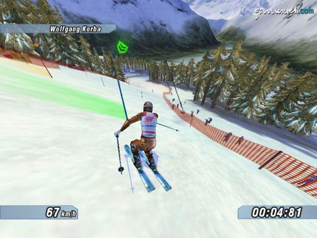 Ski Racing 2005 feat. Hermann Maier  Archiv - Screenshots - Bild 11