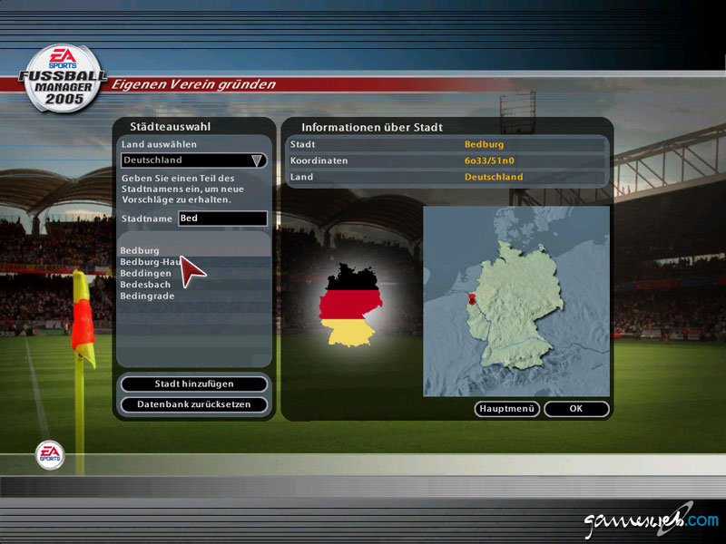 Fussball Manager 2005 Screenshots Von Gameswelt