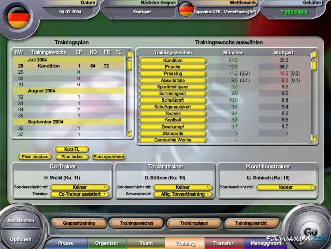 Anstoss 2005  Archiv - Screenshots - Bild 3
