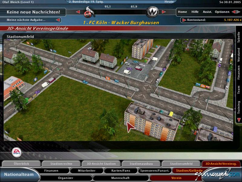 Fussball Manager 2005 Screenshots Von Gameswelt