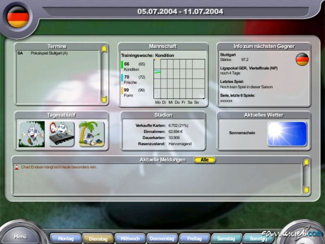 Anstoss 2005  Archiv - Screenshots - Bild 4