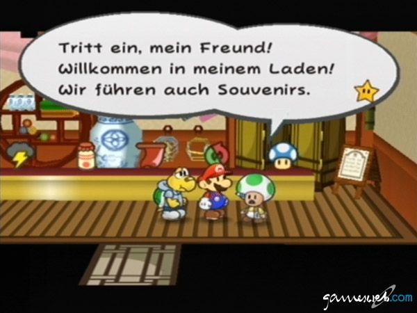 Paper Mario: Die Legende vom Äonentor  Archiv - Screenshots - Bild 13