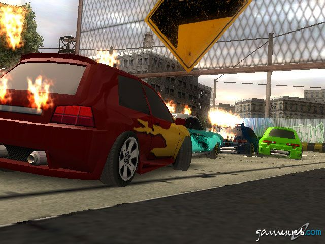 Crash 'n' Burn  Archiv - Screenshots - Bild 2