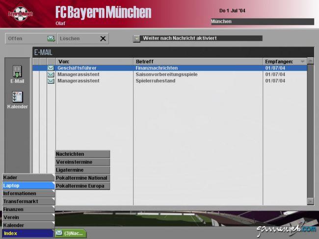BDFL Manager 2005 Pro Edition  Archiv - Screenshots - Bild 7