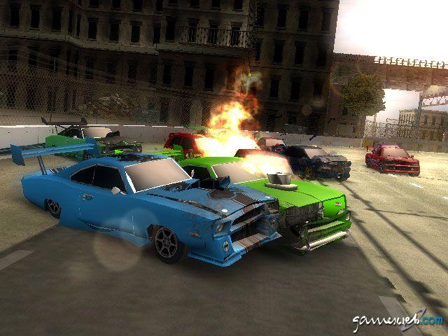 Crash 'n' Burn  Archiv - Screenshots - Bild 3