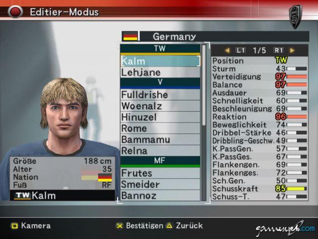 Pro Evolution Soccer 4  Archiv - Screenshots - Bild 10