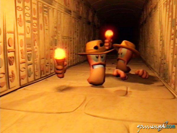 Worms Forts: Unter Belagerung  Archiv - Screenshots - Bild 8