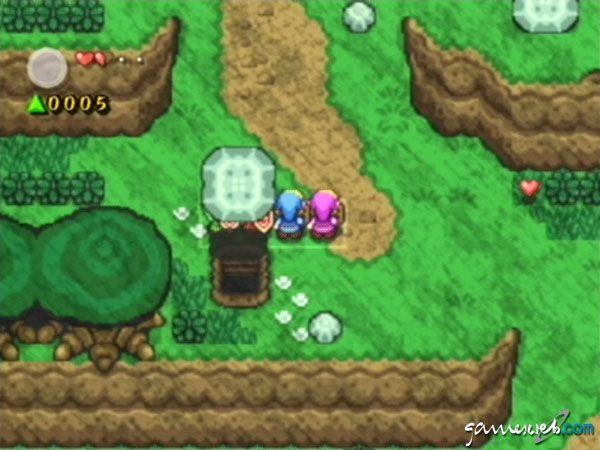Legend of Zelda: Four Swords Adventures  Archiv - Screenshots - Bild 5