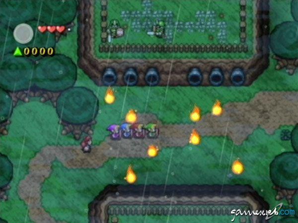 Legend of Zelda: Four Swords Adventures  Archiv - Screenshots - Bild 10