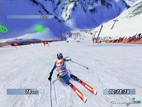 Ski Racing 2005 feat. Hermann Maier  Archiv - Screenshots - Bild 4