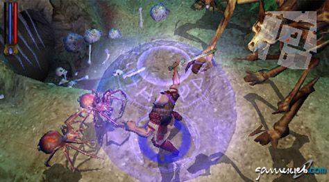 Untold Legends: Brotherhood of the Blade (PSP)  Archiv - Screenshots - Bild 12