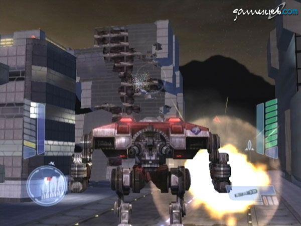 MechAssault 2: Lone Wolf  Archiv - Screenshots - Bild 9