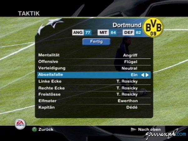UEFA Champions League 2004-2005  Archiv - Screenshots - Bild 8
